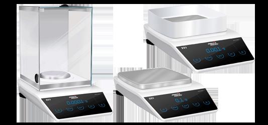 LX laboratory scales range
